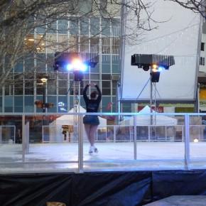 Катание на коньках в Цивике