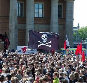 """Пиратскую Партию """"вытолкнули за борт"""""""