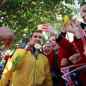 Встречайте Олимпийцев!