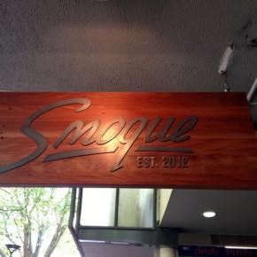 Новый ресторан Smoque