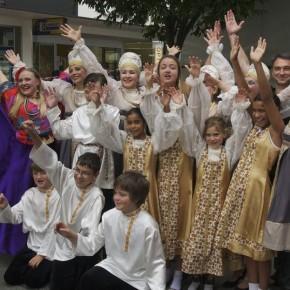 Русская школа участвует в юбилейном торжестве!