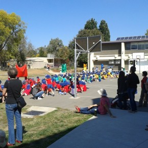 Спортивный день в Канберрской школе