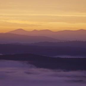 Рассвет на горе Эйнсли