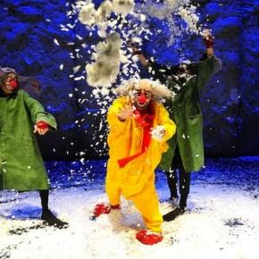 сНежное шоу в зимней Канберре