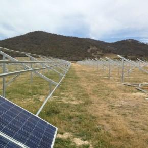 В Канберре строится первая станция солнечной энергии