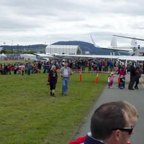 Тысячи канберрцев посетили шоу в Аэропорту