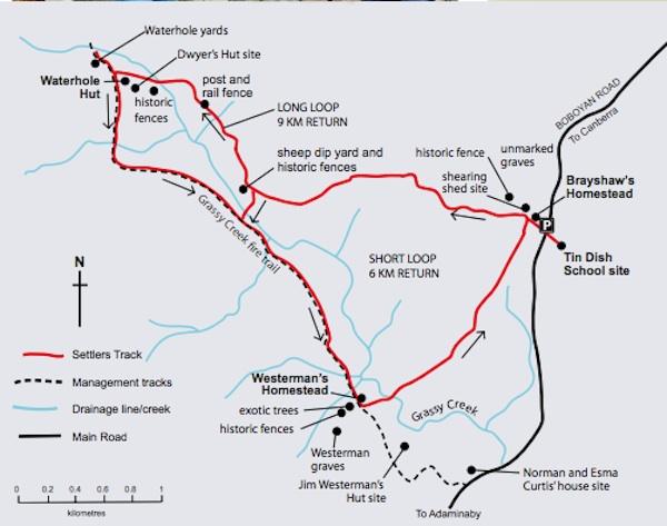 Map Namandgi
