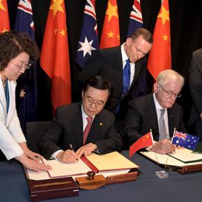 Австралия и Китай укрепляют сотрудничество