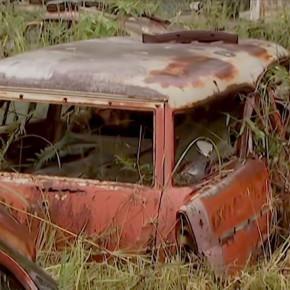 Самая большая свалка автомобилей в Австралии