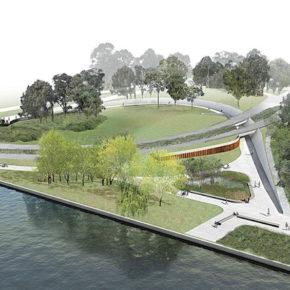 Новая дорожка для пешеходов и велосипедистов на Боуэн Плейс