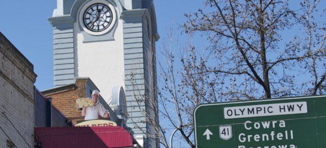 Город Янг - вишневая столица Австралии