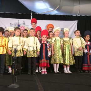 Выступление русских школ на Фестивале